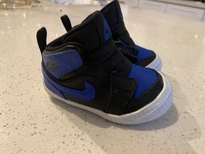 Air Jordan 1 Retro Royal Crib bootie for Sale in San Bernardino, CA