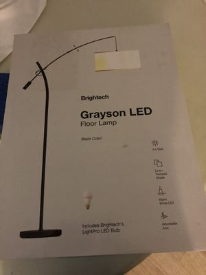 Brightech grayson led arc floor lamp for Sale in Bakersfield, CA