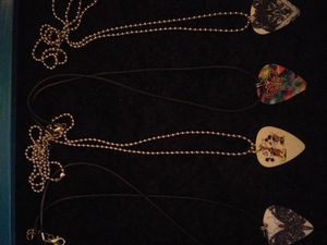 GUITAR PICK NECKLACES $3 each for Sale in Abilene, TX
