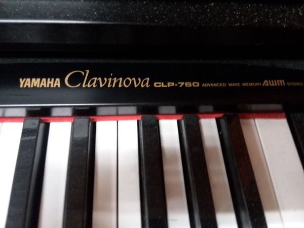 yamaha clavinova electric piano clp760 for sale in gig harbor wa offerup. Black Bedroom Furniture Sets. Home Design Ideas