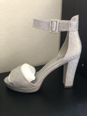 Silver glitter heels for Sale in Castro Valley, CA