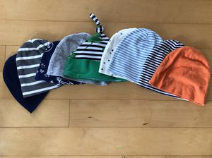 Lot of 9 Baby Boy hats for Sale in Sarasota, FL