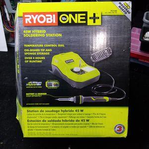 RYOBI Chordless Soldering Gun w/ Lithium battery for Sale in Peoria, AZ