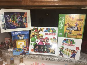 Super Mario Games and Puzzles for Sale in Grand Prairie, TX