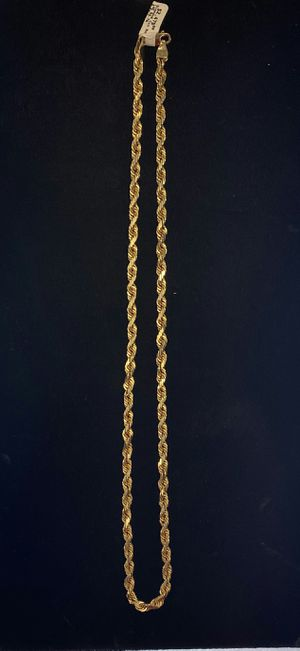 14K Gold Rope Chain for Sale in North Las Vegas, NV