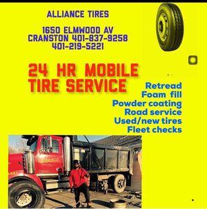 Truck tires mobile tire service for Sale in Johnston, RI