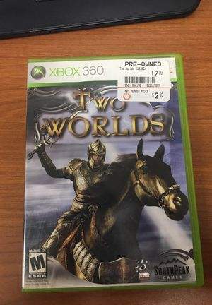 Xbox 360 game two worlds for Sale in Jessup, MD