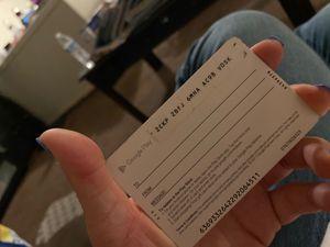 Google play card 15 dollar balance for Sale in Irwindale, CA
