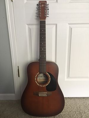 Art & Lutherie 12 String Acoustic Electric Guitar for Sale in Tacoma, WA