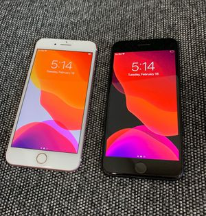 IPhone 7 Plus 128GB Unlocked-Fully Working -Rose Gold Or Black $330 each!!! for Sale in Villa Park, IL