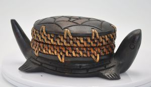 African wooden turtle box for Sale in Arlington, VA