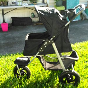 Pet stroller excellent condition like new for Sale in Davie, FL
