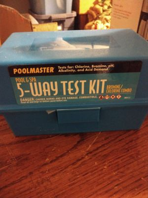 Poolmaster 5-Way Test Kit for pool water for Sale in Turlock, CA