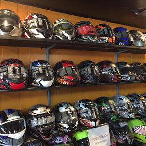 New dot motorcycle helmet s $65 and up for Sale in Whittier, CA
