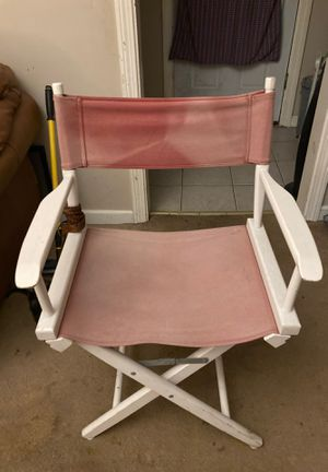 Folding director's chair for Sale in Torrington, CT