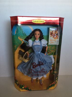 Mattel Hollywood Legends Barbie As Dorothy in the Wizard of Oz Collector Doll for Sale in Los Angeles, CA