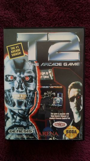 Sega Genesis game T2 The Arcade Game for Sale in Rialto, CA