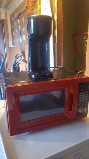 Microwave and coffee maker for Sale in Tacoma, WA