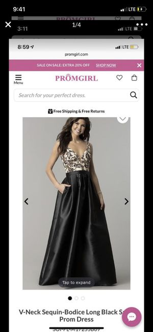 Black Prom dress for Sale in Arvada, CO