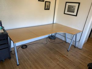 IKEA desks with extensions left or right for Sale in Santa Clara, CA
