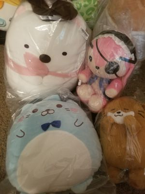 Japan plushies for Sale in Carrollton, TX