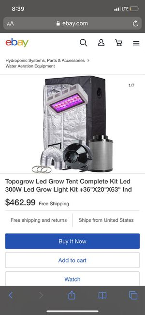 Grow Tent Complete Kit $200 BRAND NEW for Sale in Greenbelt, MD