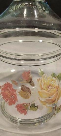 Vintage Glass Lidded Jar for Sale in Everett,  WA