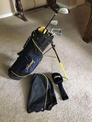 "Junior Golf Clubs Linksman Brand. Junior Flex shafts For a child around 50"" tall. for Sale in Henderson, KY"