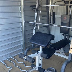 Olympic Smith Machine Home Gym Setup for Sale in Queen Creek, AZ