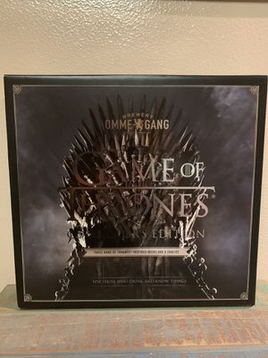 Game of Thrones Beer Collection with Glass for Sale in Chino Hills, CA