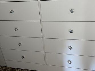 White 8 Drawer Dresser for Sale in Anaheim,  CA