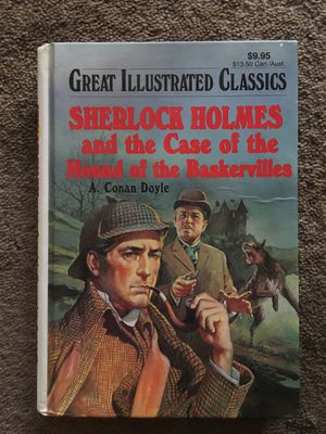 Sherlock Holmes in the case of the hound of the Baskerville's for Sale in Chicago, IL