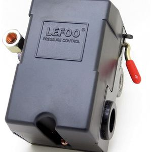Lefoo Quality Air Compressor Pressure Switch Control 95-125 PSI 4 Port for Sale in La Habra Heights, CA