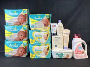 Bundle: Pampers Newborn & Size 1, Dreft, Aveeno Aquaphor for Sale in Melvindale, MI