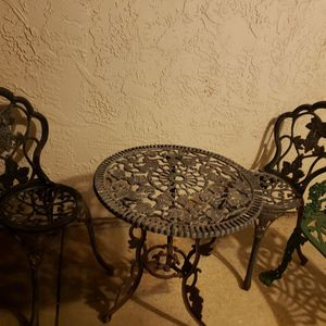 Iron Patio Set for Sale in Carlsbad, CA
