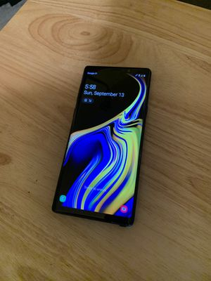 Samsung Galaxy Note9 Unlocked for Sale in Apple Valley, CA