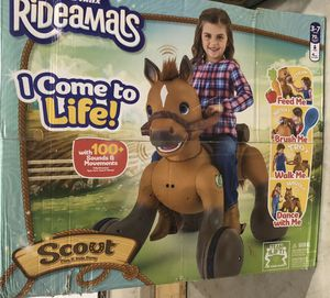 Rideamals Scout 12v pony horse for Sale in West Fargo, ND