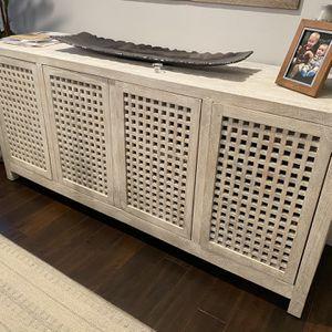 Dining Room Hutch - White Lattice for Sale in CA, US