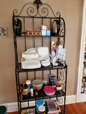 Decorative bakers rack for Sale in Cowpens, SC