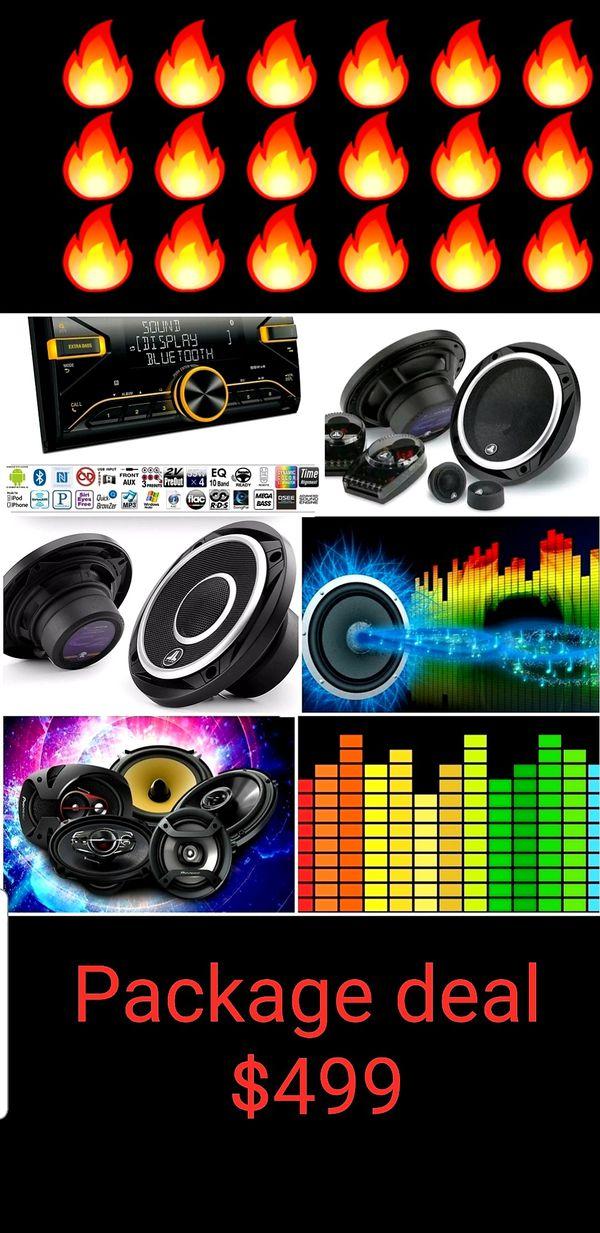 Jl audio Package deal