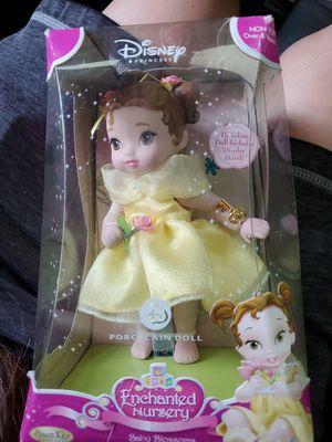 2007 Brass Key Belle Enchanted Nursery Rhyme Disney Princess Porcelain Doll for Sale in Nashville, TN
