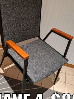 Metal Chair Set Of 4 for Sale in Battle Ground,  WA