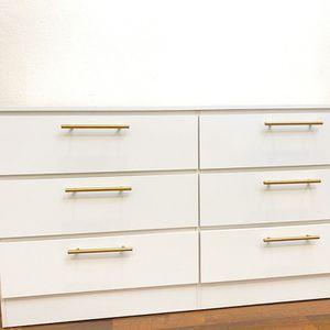 New White Dresser Golden Handles for Sale in Boca Raton, FL