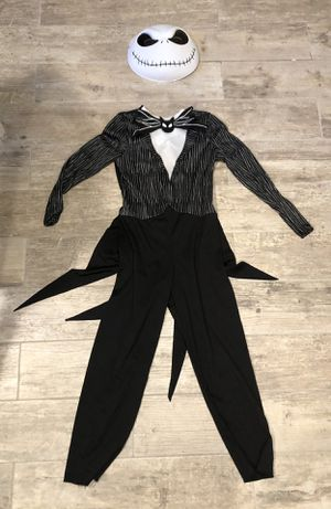 Halloween costume Jack Skellington size 7-8 years for Sale in Burr Ridge, IL