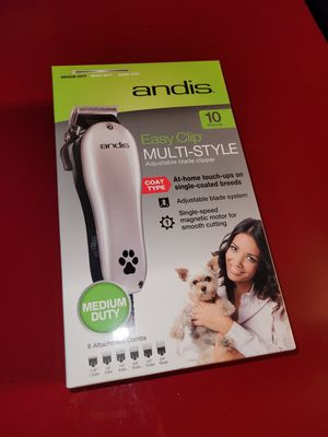 Andis Easy Clip Groom Clipper Kit For Dogs for Sale in Inverness, FL