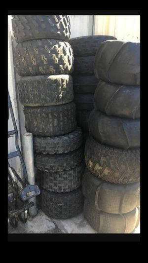 atv and motorcycle tires.... for Sale in Spring Valley, CA