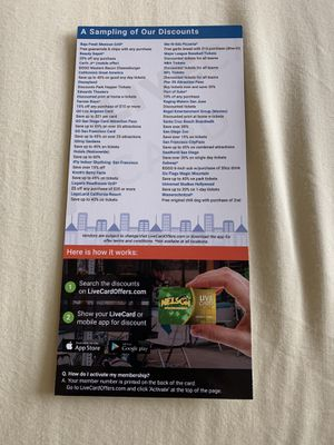 Discount card for fundraising for Sale in Fresno, CA