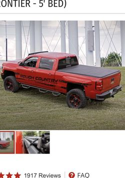 Rough Country NISSAN SOFT TRI-FOLD BED COVER (05-21 FRONTIER - 5' BED) for Sale in North Port,  FL