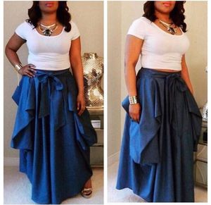 Denim Maxi Skirt for Sale in Oxon Hill, MD