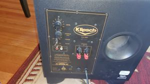 Klipsch subwoofer for Sale in Alexandria, VA